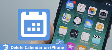 Delete Calendar on iPhone