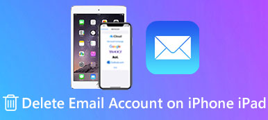Delete Email Account on iPhone