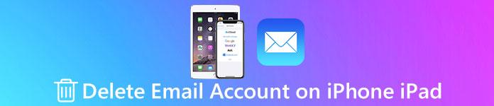 Supprimer un compte de messagerie sur iPhone