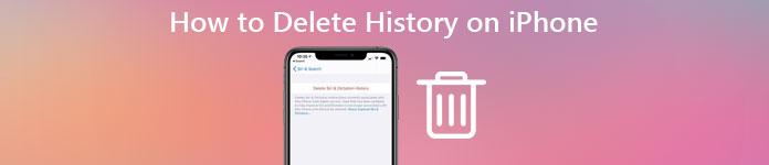 Supprimer l'historique sur iPhone