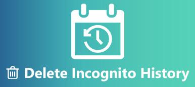 Inkognito-Verlauf löschen