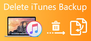 Supprimer iTunes Backup