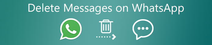 WhatsAppメッセージを削除する