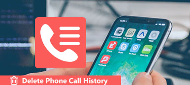 Supprimer l'historique des appels téléphoniques