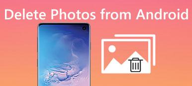 Löschen Sie Fotos von Android