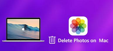 Supprimer des photos sur Mac