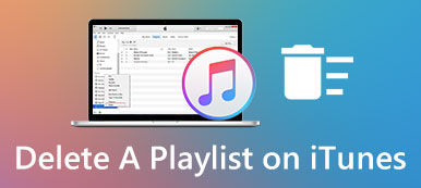 Löschen Sie eine Playlist in iTunes