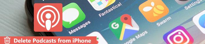 Supprimer des podcasts sur iPhone