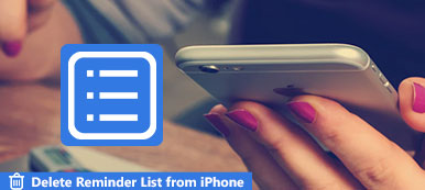 Delete Reminder Lists on iPhone