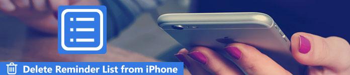 Supprimer des listes de rappel sur iPhone
