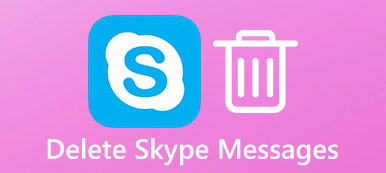 Delete Skype Messages