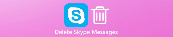 Löschen Sie Skype-Nachrichten