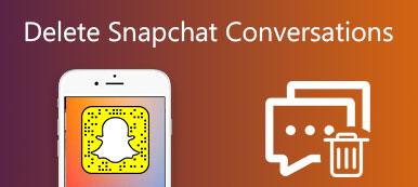 Supprimer les conversations Snapchat