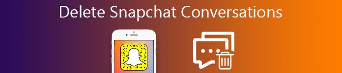 Snapchat会話を削除する