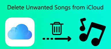 Löschen Sie unerwünschte Titel aus der iCloud