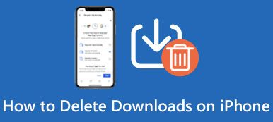 Delete Downloads on iPad