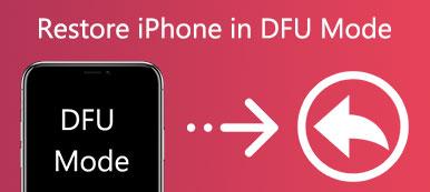 DFU-Wiederherstellung