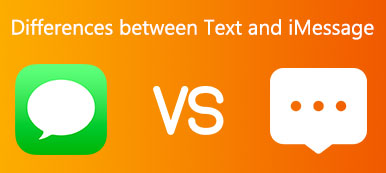 Differences between Text and iMessage