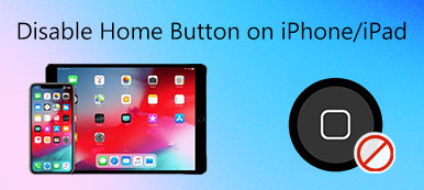 Disable Home Button on iPhone iPad