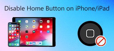 Désactiver le bouton d'accueil sur iPhone iPad
