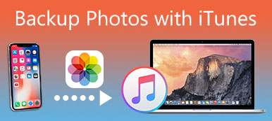 Backup Photos with iTunes