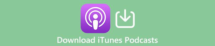Laden Sie den iTunes Podcast auf den Computer herunter