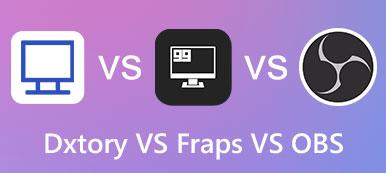 Dxtory VS Fraps VS Obs