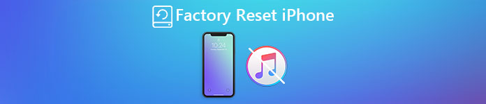 Factory Reset iPhone Without iTunes