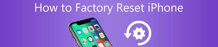 Werkseinstellung iPhone zurücksetzen