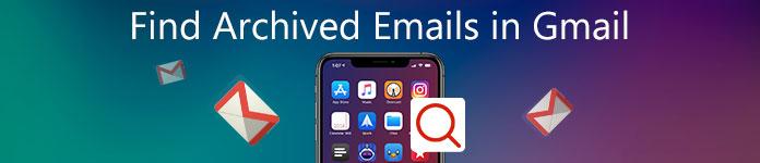 Найти архивированные письма в Gmail