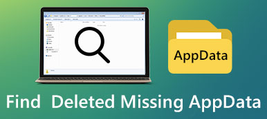 Find Deleted Missing AppData