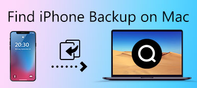 Trouver iPhone Backup sur Mac