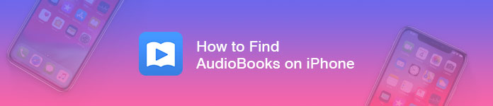 Find manage audiobooks on iphone