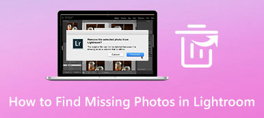 Find Missing Photos in Lightroom