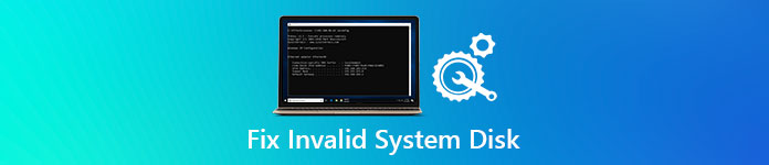 Fix Invalid System Disk Error