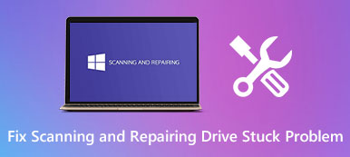 Fix Scanning and Repairing Drive Stuck Problem