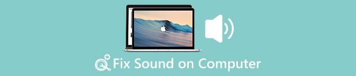 Fixer le son sur l'ordinateur