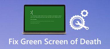 Correction de l'écran vert de la mort sous Windows 10