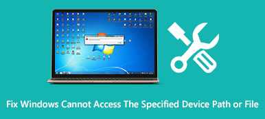 Fix Windows Cannot Access the Specified Device Path