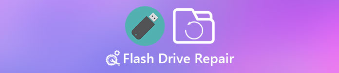 Réparation de lecteur flash