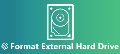 Formatage du disque dur externe