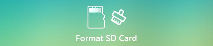 Formatieren Sie die SD-Karte
