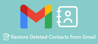 Restore Deleted Contacts from Gmail