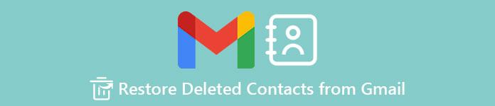 Restaurer les contacts supprimés de Gmail