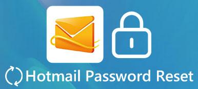 Hotmail-Passcode zurücksetzen