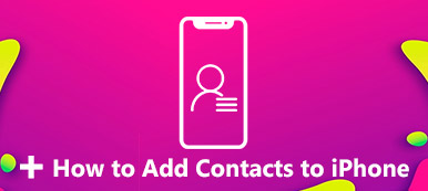 Comment ajouter des contacts à l'iPhone