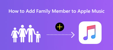 Add Family Member to Apple Music