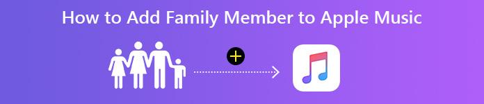 Füge Familienmitglieder zu Apple Music hinzu