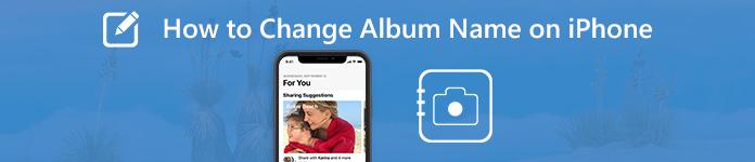 Changer un nom d'album sur iPhone