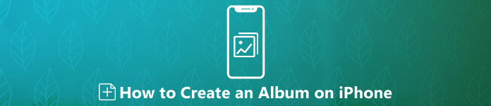 iPhoneでアルバムを作成する方法